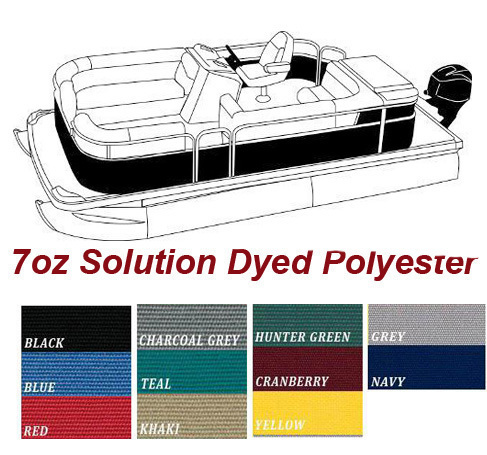 Terrific 7 Oz Solution Dyed Polyester Material Pontoons W Rails That Partially Enclose Deck Leaving 1 3 Of Open Deck Forward Of Front Gate Aft Of Rear Creativecarmelina Interior Chair Design Creativecarmelinacom
