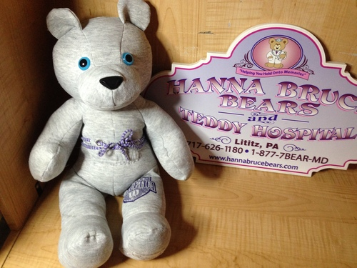 Hanna's Heart and Soul Memory Bear