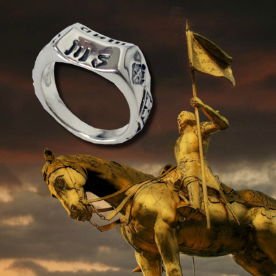 Réplique de l'Anneau de Jeanne d'Arc