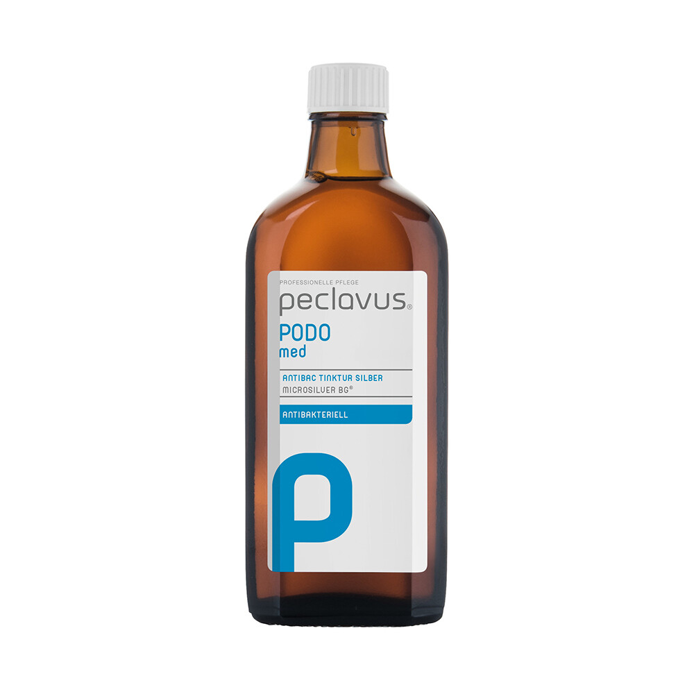 PODOmed AntiBAC Tinktur Silber  | Антибактериальная настойка с серебром