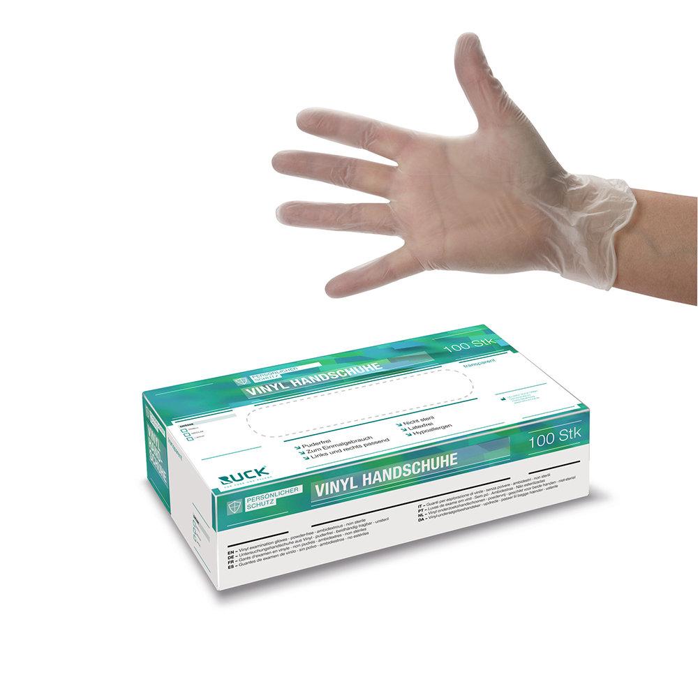 Vinyl gloves / Перчатки виниловые