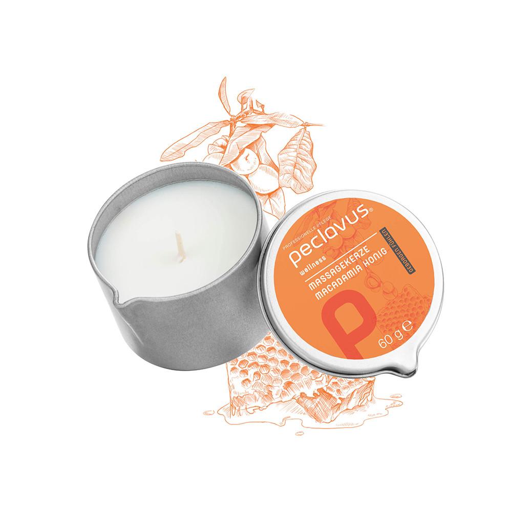 """Massage candle """"macadamia honig"""" / Массажная свеча «макадамия и мед»"""