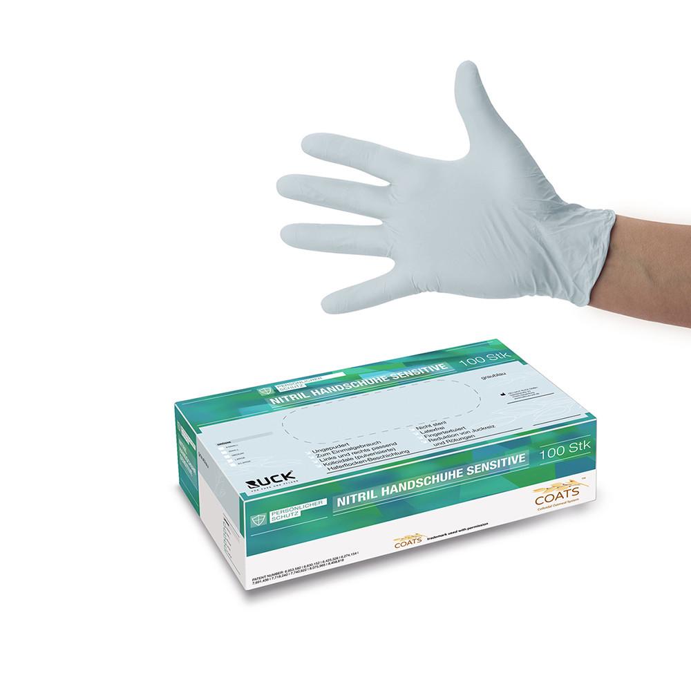Nitril gloves Sensitive / Нитриловые перчатки для чувствительной кожи