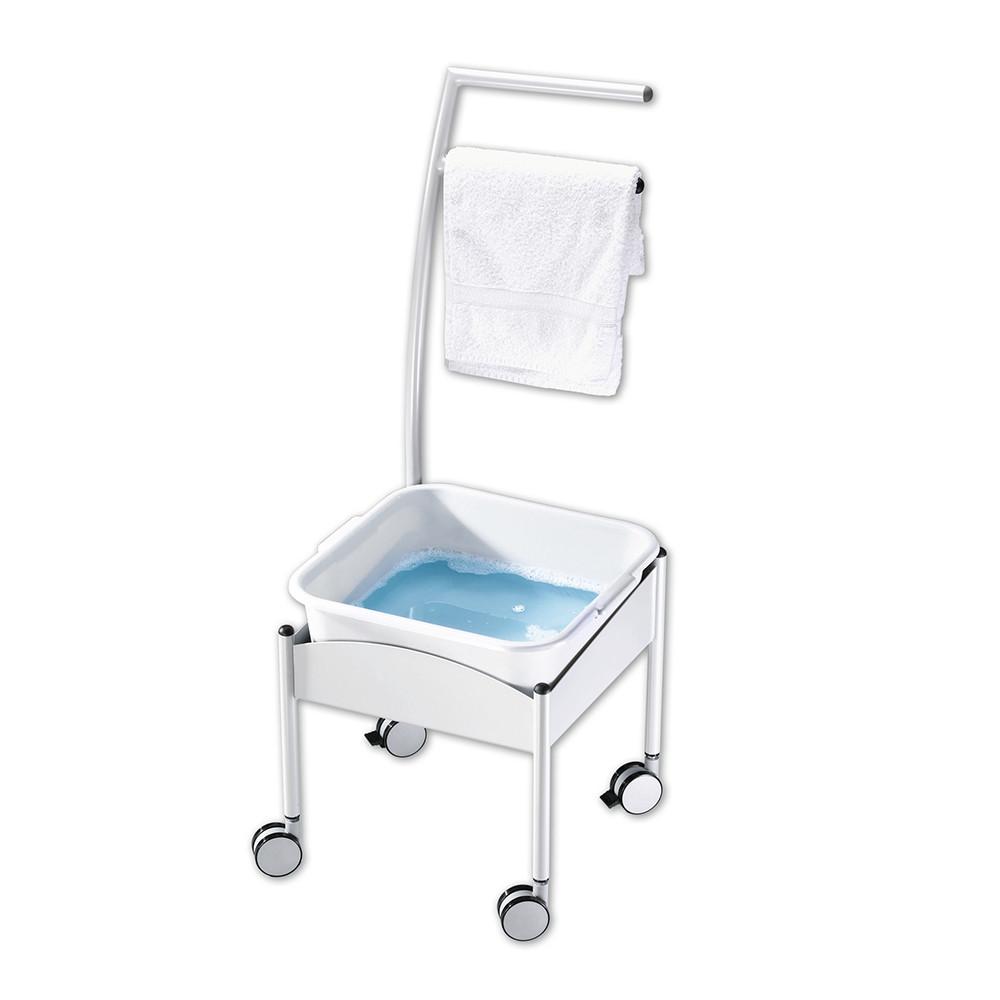 Fußwannenwagen / Ванна пластиковая на каркасе передвижная с колесиками