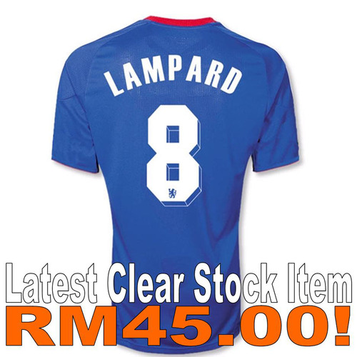 buy online f64aa 38150 Chelsea FC (HOME) 2010/2011 'LAMPARD 8'