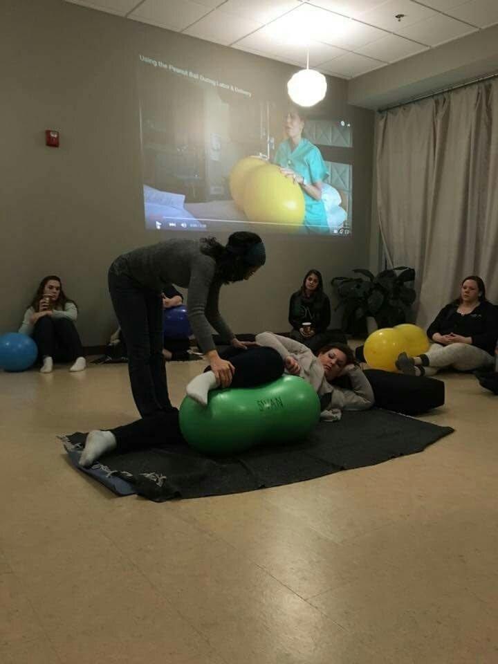 Peanut Ball Skills for Birth Workers