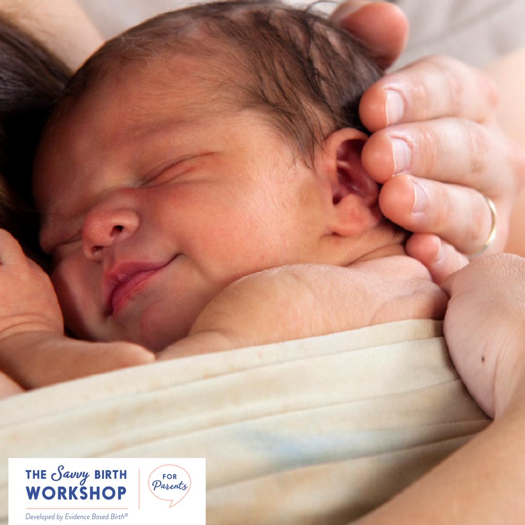 Savvy Birth Workshop for Parents  - Evidence Based Birth® SavvyParent