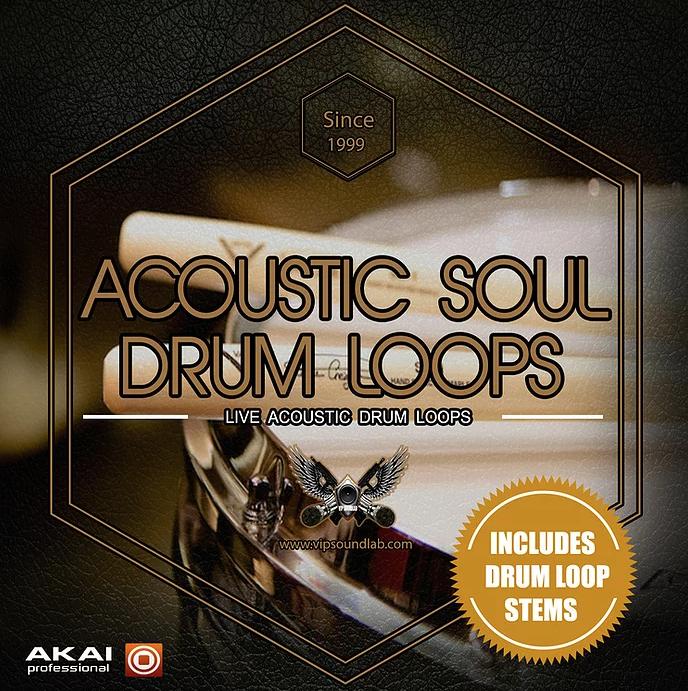 Acoustic Soul Drum Loops HD