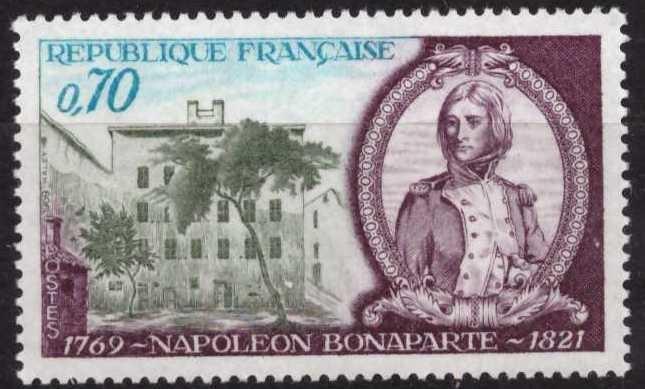 Napoleón Bonaparte, sin usar