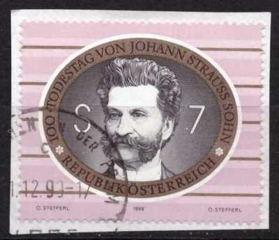 Johann Strauss, usado (en papel)