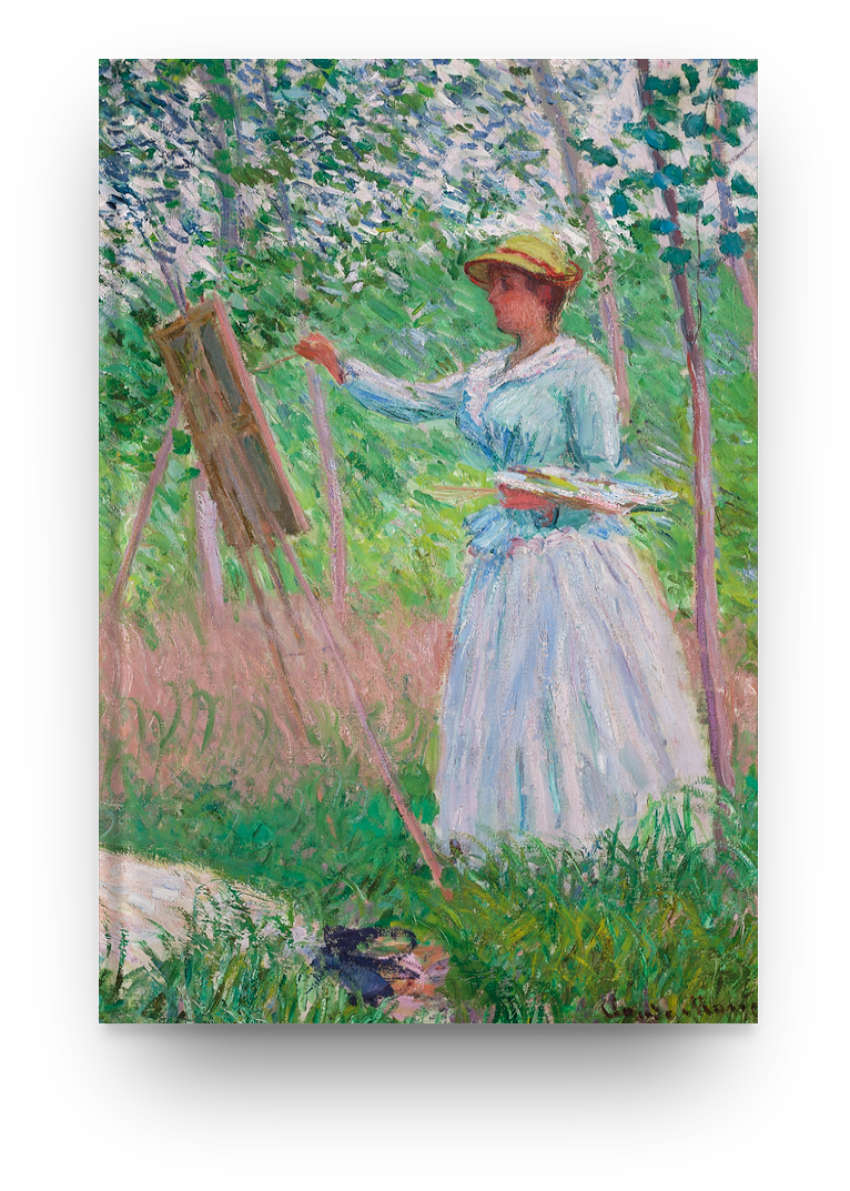 Libreta Claude Monet, En los bosques
