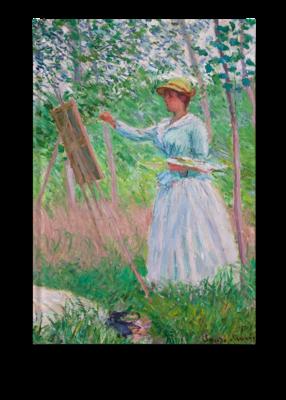 Libreta Claude Monet, En los bosques
