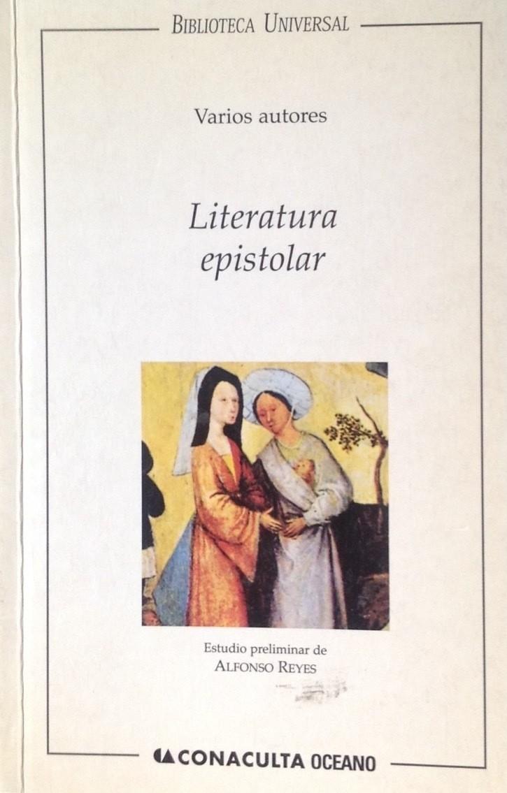 Literatura epistolar