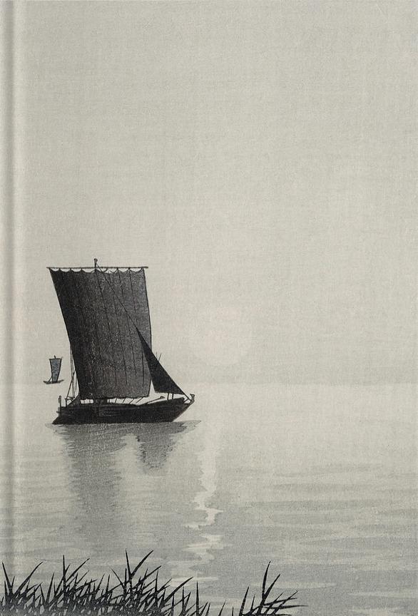 Libreta Barco pesquero de Ohara Koson
