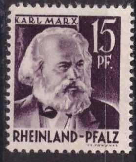 Karl Marx, sin usar