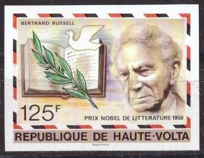 Bertrand Russell, sin usar