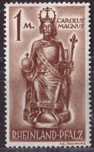 Carlo Magno, sin usar