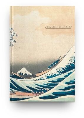 Libreta La gran ola de Katsushika Hokusai