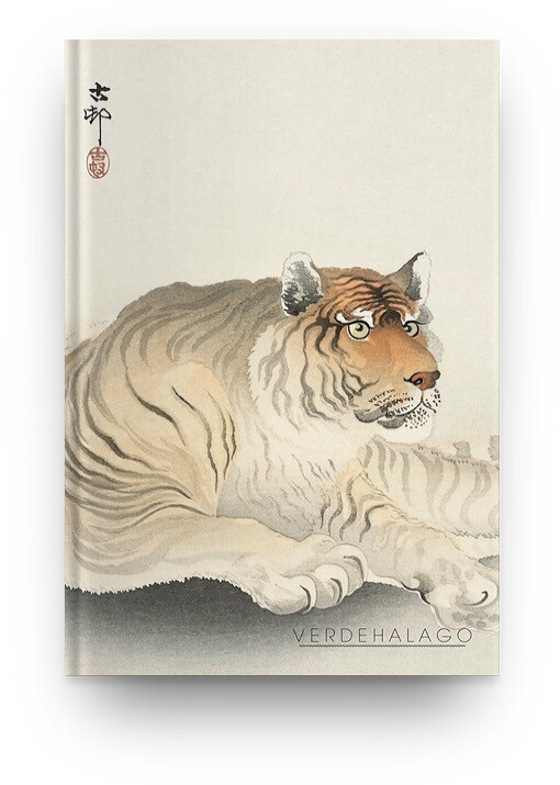 Libreta Tigre de Ohara Koson
