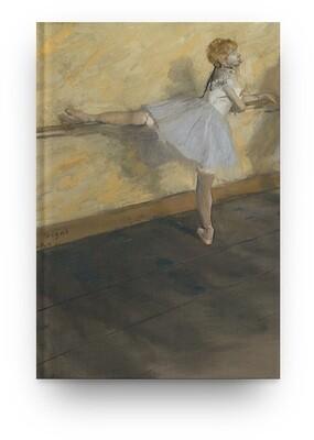 Libreta Edgar Degas bailarina 01