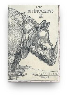 Libreta Alberto Durero, Rinoceronte