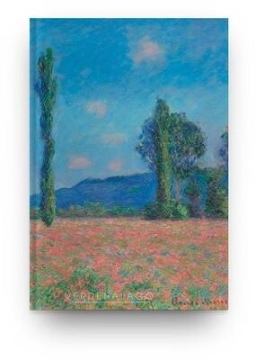 Libreta Claude Monet, Campo de amapolas