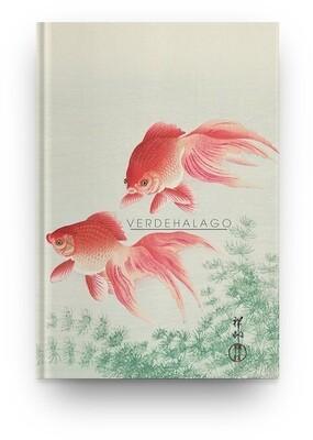 Libreta Dos peces de Ohara Koson