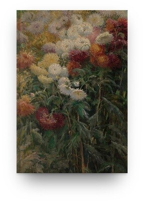 Libreta Flores de Gustave Caillebotte
