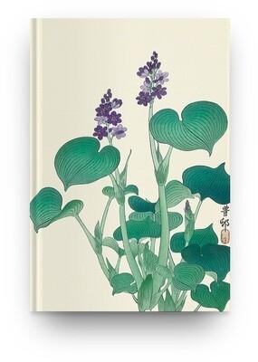 Libreta Flor japonesa III de Ohara Koson