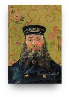 Libreta Retrato de Joseph Roulin de Van Gogh