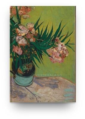 Libreta Van Gogh Florero