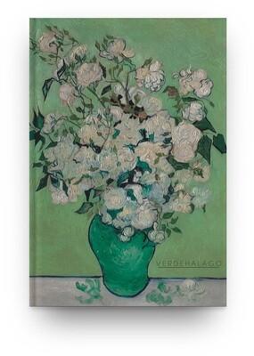 Libreta Van Gogh Rosas