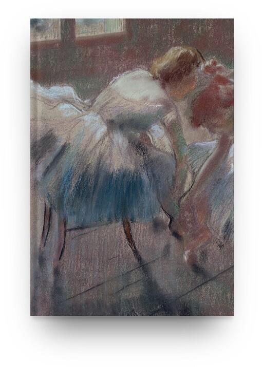 Libreta Edgar Degas bailarina 06