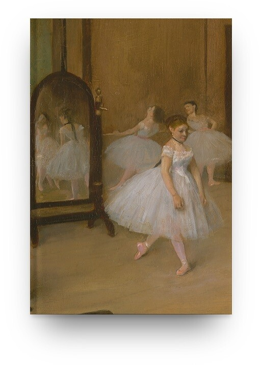 Libreta Edgar Degas bailarina 03