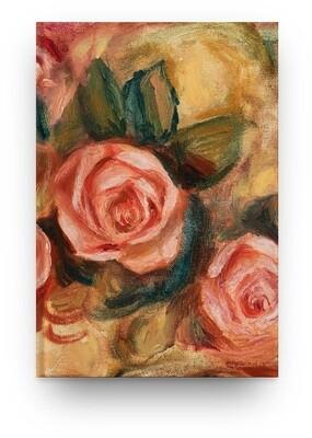 Libreta Pierre-Auguste Renoir Anémonas