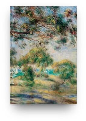 Libreta Pierre-Auguste Renoir Paisaje 01