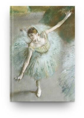Libreta Edgar Degas bailarina 04