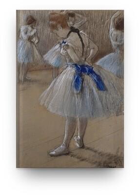 Libreta Edgar Degas bailarina 05