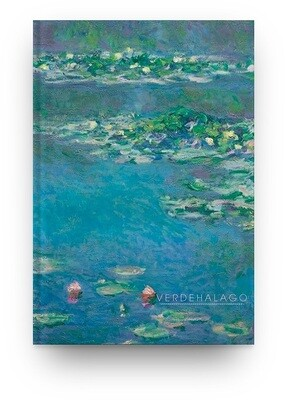 Libreta Claude Monet nenúfares