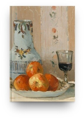 Libreta Camille Pissarro Naturaleza muerta