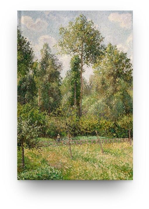 Libreta Camille Pissarro Paisaje 02