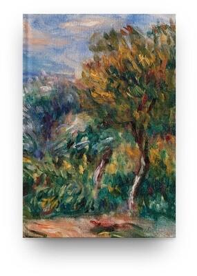 Libreta Pierre-Auguste Renoir Paisaje 02