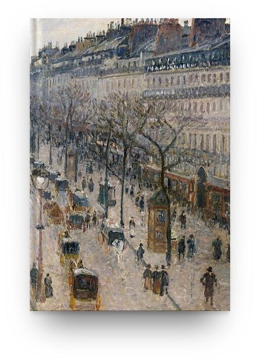 Libreta Camille Pissarro Paris