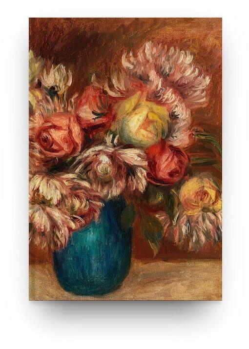 Libreta Pierre-Auguste Renoir Flores 01