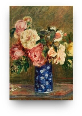 Libreta Pierre-Auguste Renoir Rosas