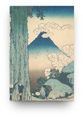 Libreta Katsushika Hokusai Monte Fuji