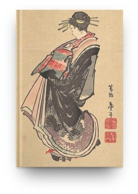 Libreta Katsushika Hokusai Cortesana