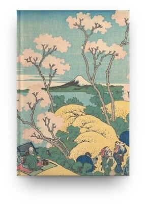 Libreta Katsushika Hokusai Fuji