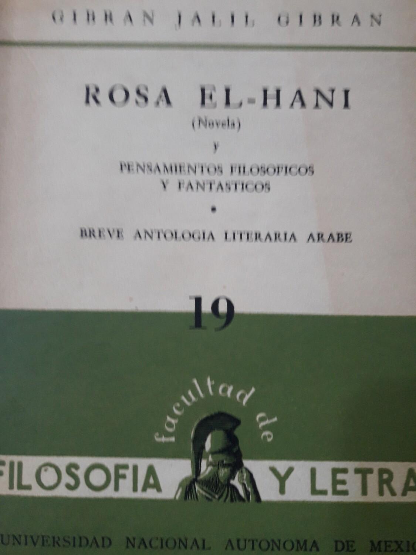 Jalil Gibrán, Breve antología literaria árabe