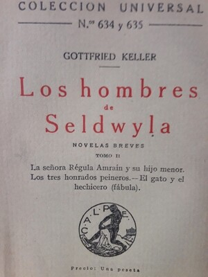 G. Keller, Novelas breves